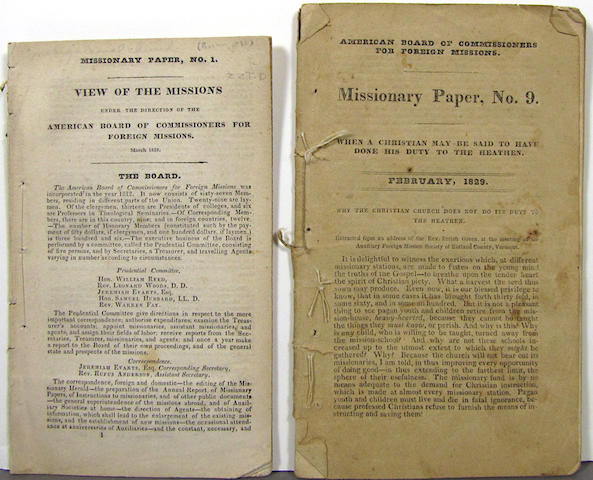 Missionary Paper. Various numbers. 8 items.
