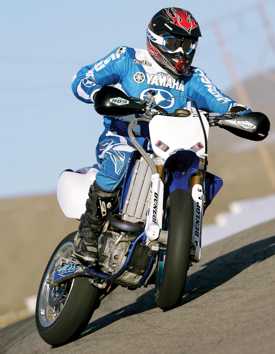 ex-Marty Moates, two-wheel-drive dirtbike owned by the USGP winner,2004 Yamaha WR450F 2-Trac  Chassis no. JYACJ04W000010 Engine no. 569