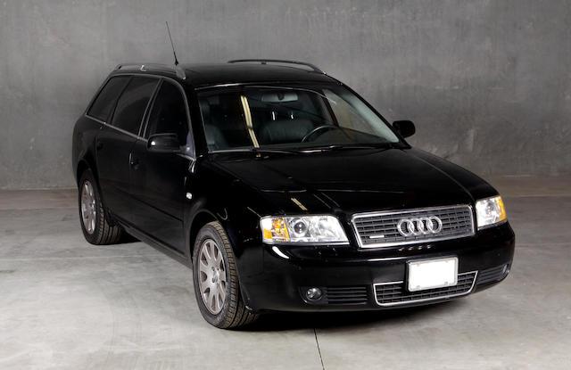 2002 Audi A6 3.0 Avant Quattro  Chassis no. WAUVT64B92N098735