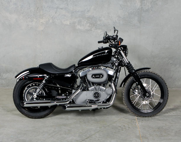 2008 Harley-Davidson Sportster  Chassis no. 1HD1CZ3338K414944