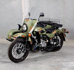 2008 Ural with Sidecar  Chassis no. X64MH03728U218795