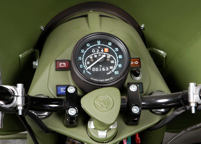 Only 126 miles from new,2008 Ural with Sidecar  Chassis no. X64MH03728U218795