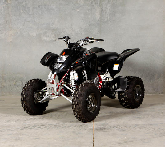 2008 Suzuki Quadsport LT-Z400  Chassis no. JSAAK47A382104352