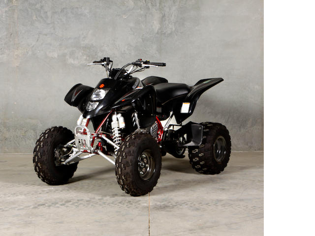 c. 2008 Suzuki Quadsport Z400  Chassis no. JSAAK47A382104352