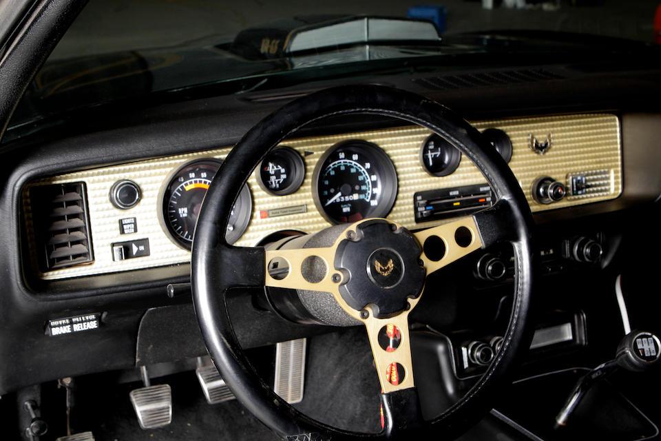 c. 1978 Pontiac Trans Am  Chassis no. 2FS87N216410