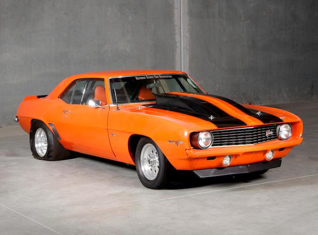 c. 1969 Chevrolet Camaro Z/28 Dragster