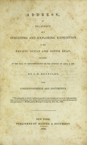 [SOUTH SEAS EXPLORATION-SAMMELBAND.]