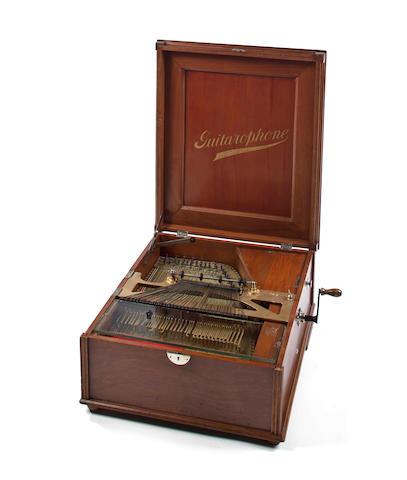 A rare 14-inch Guitarophone,