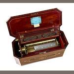 A good 'Tradesman's' hidden organ music box, by Nicole Frères, Circa 1859,