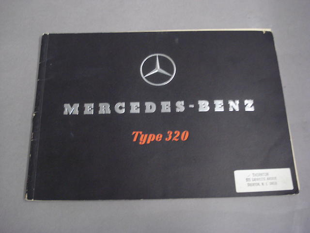 A Mercedes-Benz Type 320 sales brochure,