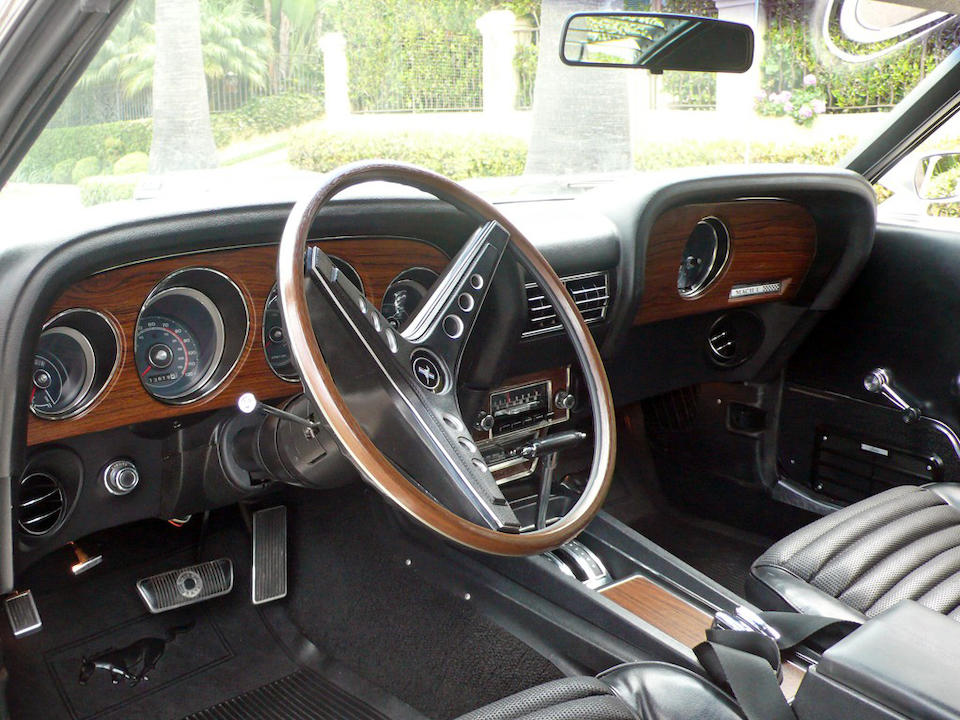Bonhams : 1969 Ford Mustang Mach I 428 Cobra Jet Ram Air