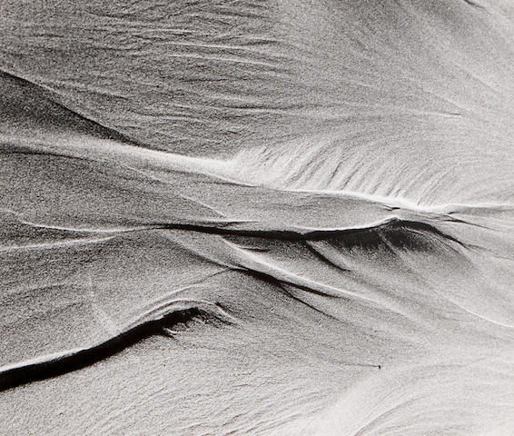 Lucien Clergue (French, born 1934); Untitled, from Sables suite;