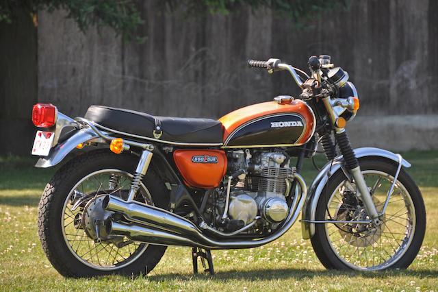 1974 Honda CB550/4 Frame no. CB5501019135 Engine no. CB550E1019258