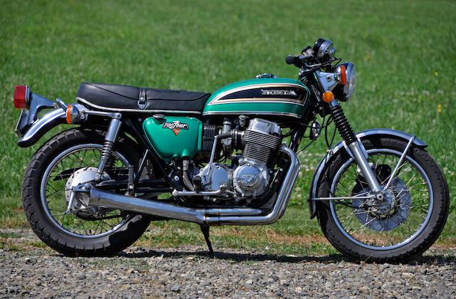 1975 Honda CB750/4 Frame no. CB7502527326 Engine no. CB750E2408860