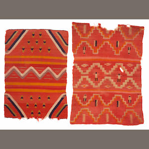 Two Navajo late classic blankets