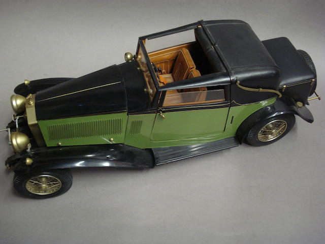 A 1:8 scale model of a Rolls Royce Phantom by Pocher,