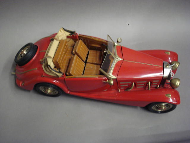 A 1:8 scale model of a Mercedes SSK by Pocher,