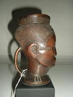 Kuba (Shoowa) Anthropomorphic Cup, Democratic Republic of the Congo