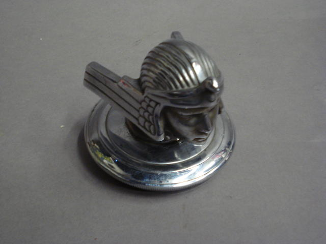A Stutz hood ornament, 1926-1935,
