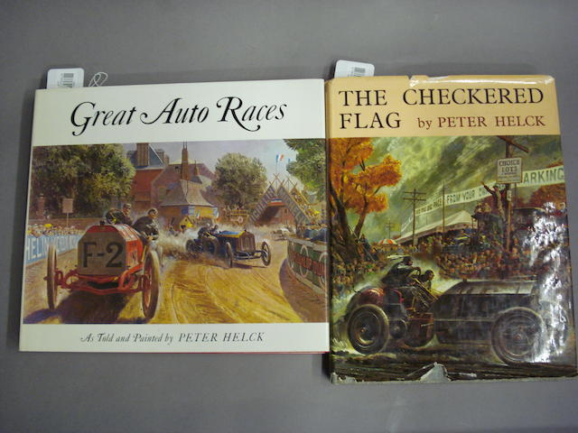 Peter Helck: 'The Checkered Flag' and 'Great Auto Races',