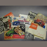 A selection of truck, military and German vehicle sales literature,