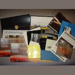 A quantity of Lamborghini sales literature,