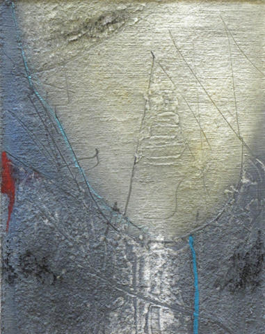 (n/a) Dan Welden (American, born 1924); Untitled (Abstract compositions); (2)