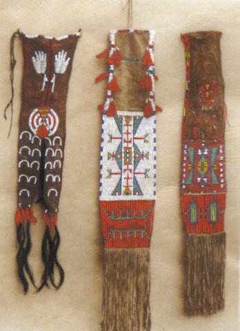 Edward S. Curtis, Pipe Bags & Shilhneohil-Navaho (Alhkidakihi-Navaho)