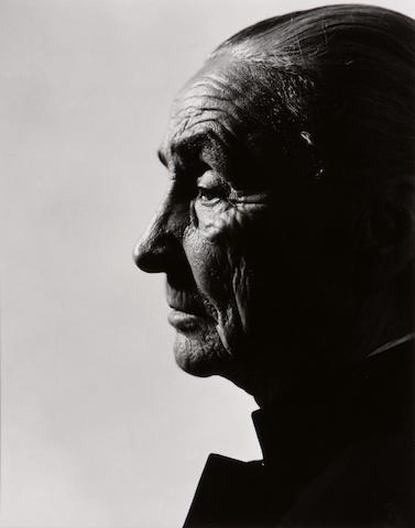 Halsman Georgia O'Keefe photographs (2);;