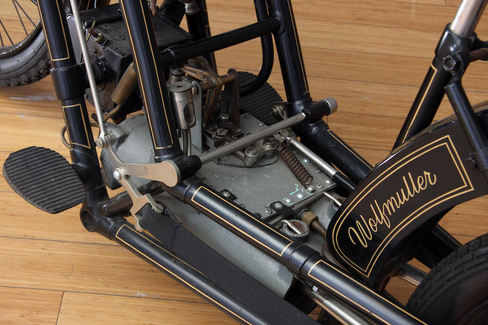 In the current family ownership since the late 1960s,c.1894/1895 Hildebrand & Wolfmüller  Engine no. 47
