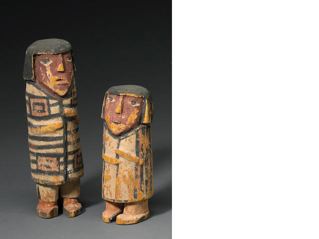 A pair of Hopi dolls
