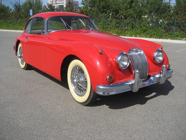 1959 Jaguar XK150S  Chassis no. T836282DN