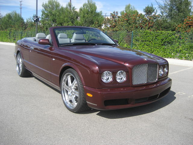 2007 Bentley Azure  Chassis no. SCBDC47L57CX12094