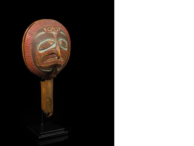 A Tlingit rattle