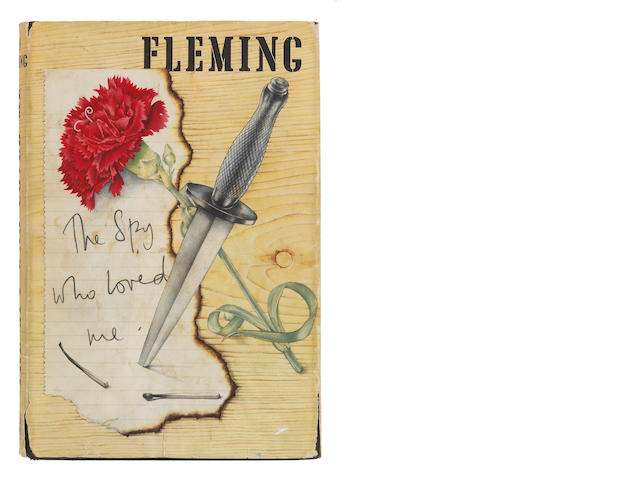 FLEMING, IAN. 1908-1964. INSCRIBED TO ROBERT F. KENNEDY.<BR>The Spy Who Loved Me. London: Jonathan C