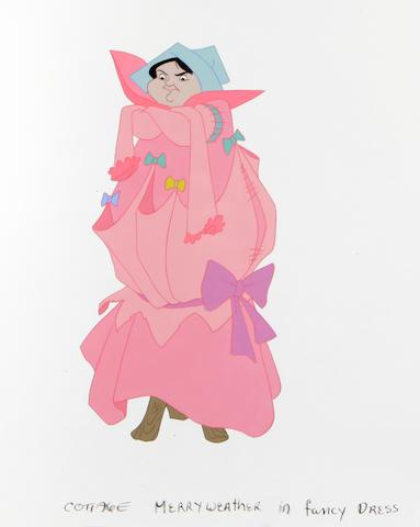 "A Walt Disney celluloid from ""Sleeping Beauty"""