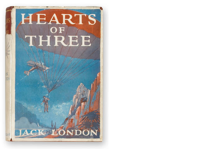 LONDON, JACK. Hearts of Three. New York: The Macmillan Company, 1920.