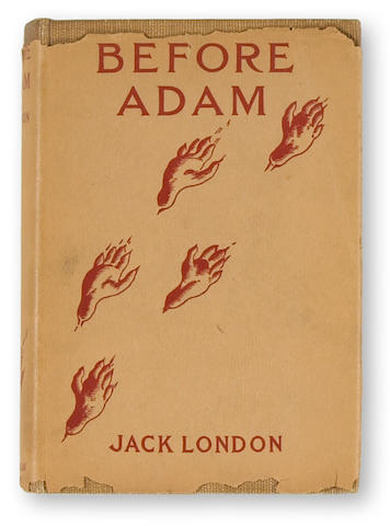 LONDON, JACK. Before Adam. New York: The Macmillan Company, 1907.