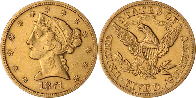 1871-CC $5