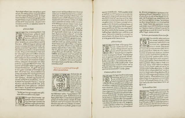 [BIBLE.] [Biblia latina. Basel: Bernard Richel, not after 1474.]