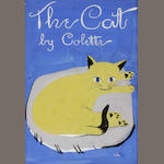 Original artwork. Colette. The Cat. 1936. Susanne Suba.