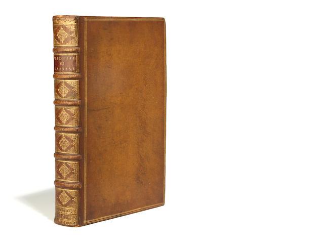 VERGILIUS MARO, PUBLIUS. Opere ... cioe la Bucolica, la Georgica, e l'Eneide. Commentate in lingua volgare toscana, da Giovanni Fabrini. Venice: heirs of Marchio Sessa, 1604.
