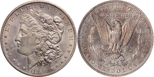1889-CC $1 Genuine PCGS