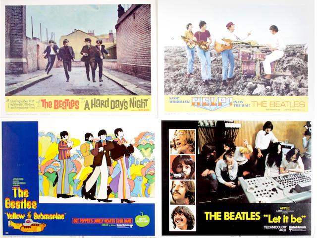 The Beatles lobby cards