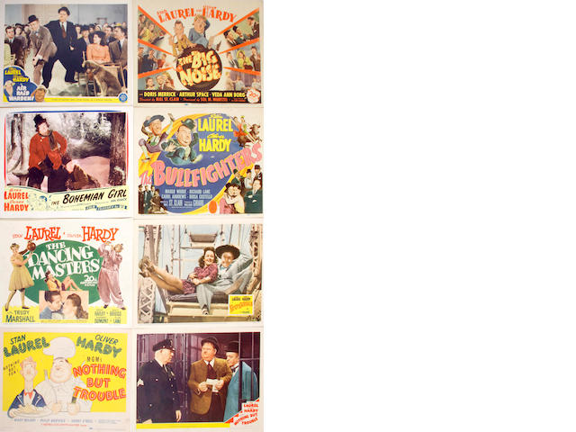 Laurel and Hardy lobby cards