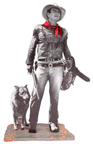 """A John Wayne """"ikon"""" related to """"Hondo,"""" 1999"""