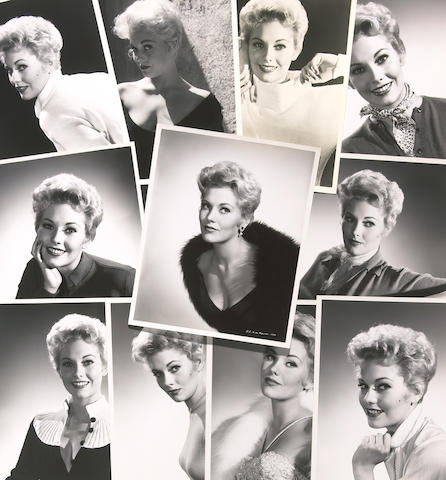 A Kim Novak group of black and white headshots by Coburn, 1955