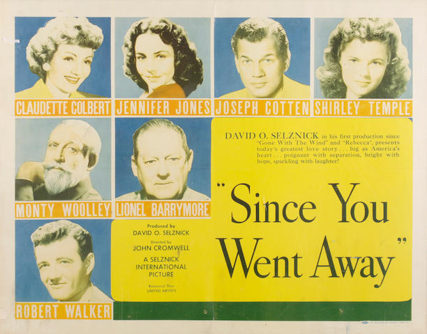 A Jennifer Jones group of personally-owned movie posters, 1940s-1960s