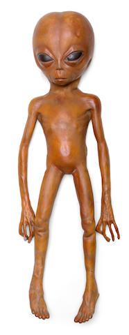 "A prop alien from ""The X Files"""