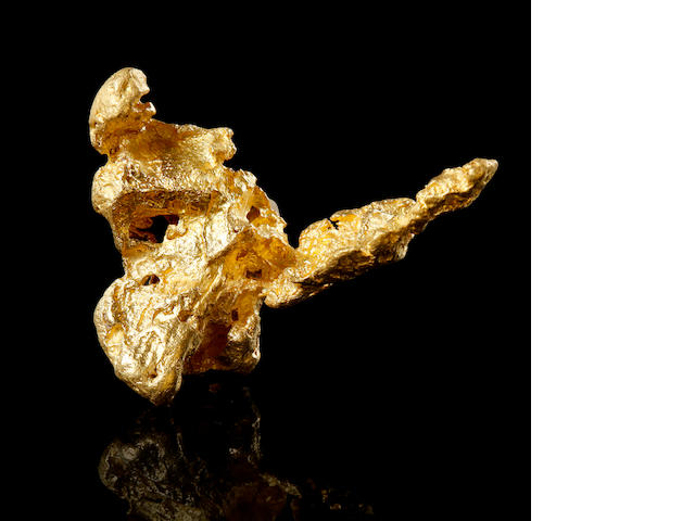 Three-Dimensional Gold Nugget